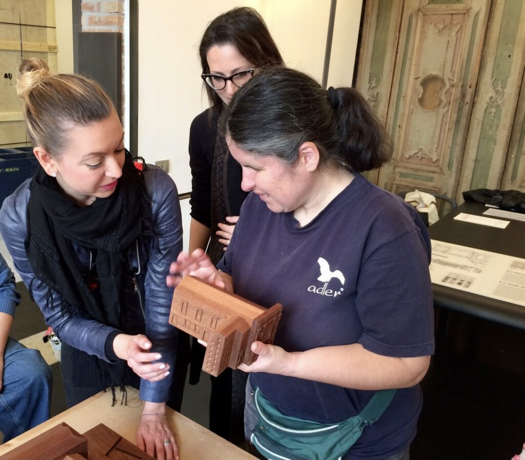 Tactile tours for blind and partially sighted visitors in Venice