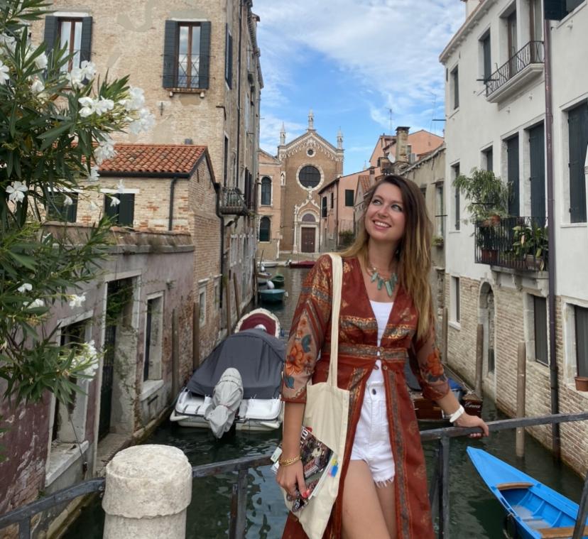 Lucia tour guide in Venice